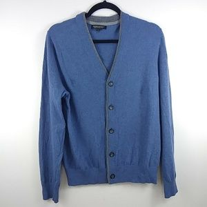 Banana Republic Blue Italian Yarn Cardigan Mens M